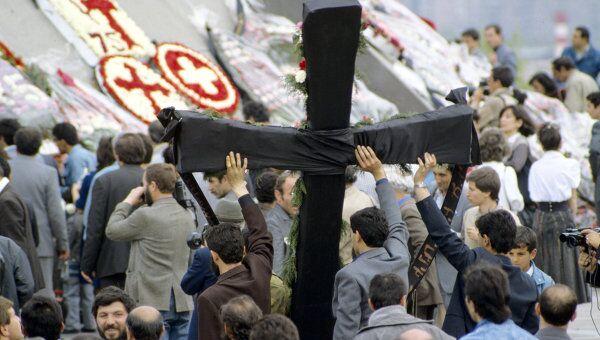 Народное шествие в День памяти жертв геноцида. Архив