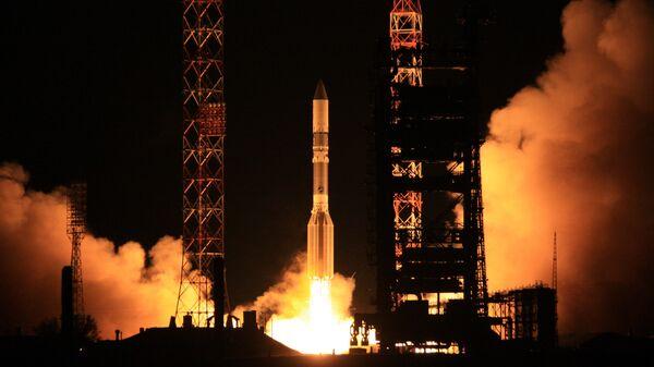 Пуск ракеты Протон-М. Архив