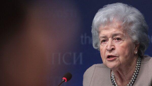 Президент Государственного музея изобразительных искусств имени А.С. Пушкина Ирина Антонова. Архивное фото