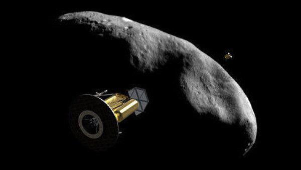 Космические геологи исследуют астероид