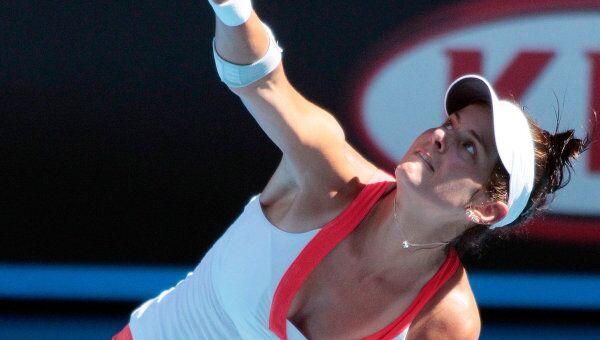 Немецкая теннисистка Юлия Гергес. Архивное фото