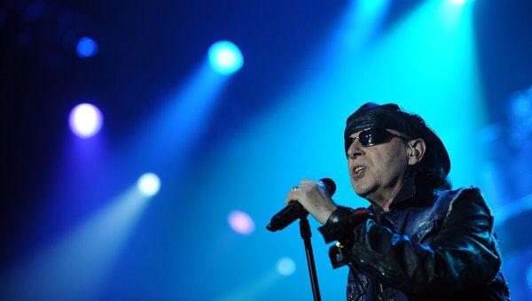 Солист группы Scorpions Клаус Майне. Архивное фото