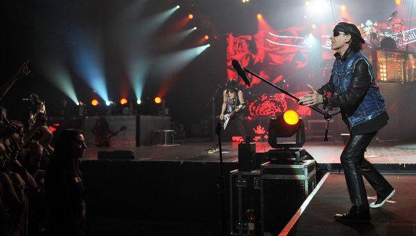 Концерт группы Scorpions в Москве, архивное фото