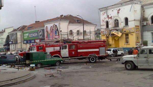 Теракт у центрального рынка во Владикавказе
