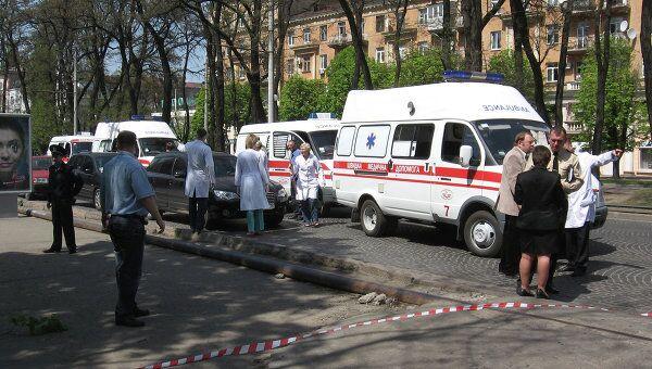 Серия взрывов в Днепропетровске