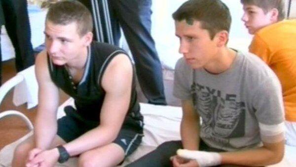 Дети, пострадавшие от взрывов в Днепропетровске, рассказали о ЧП Януковичу