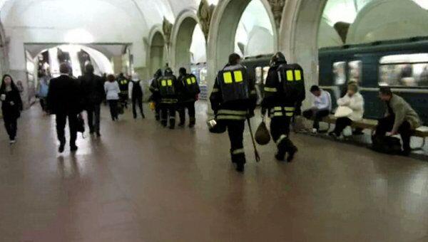 Пассажиры московского метро пострадали от распыленного газового баллончика