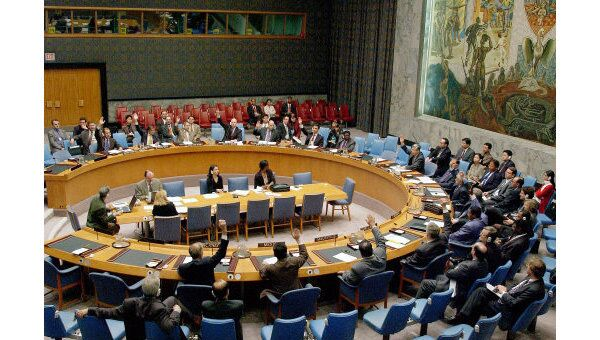 Заседание Совета Безопасности ООН. Архив