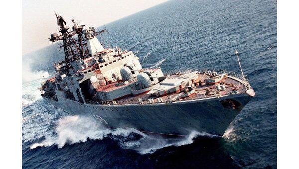 Большой противолодочный корабль Маршал Шапошников. Архив