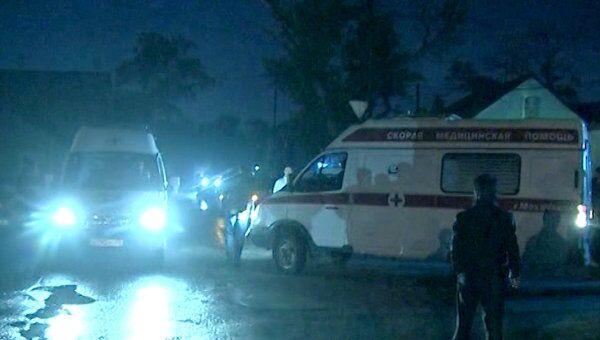 Взрывы на посту полиции в Махачкале