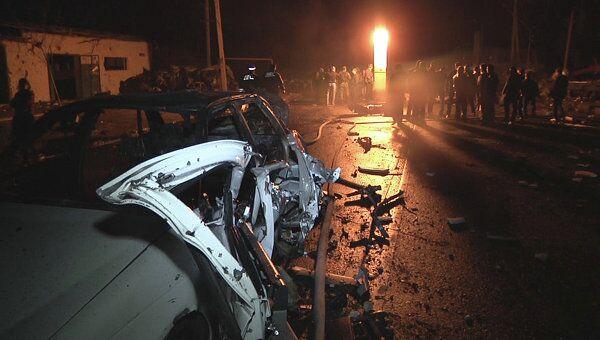 Два взрыва прогремело на посту полиции в Махачкале