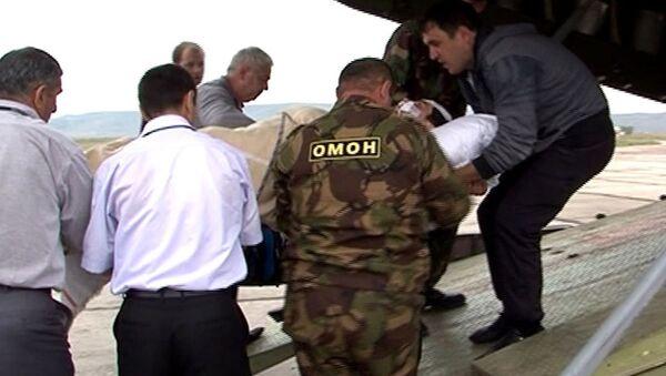 Тяжелораненых при теракте в Махачкале отправили спецбортом в Москву