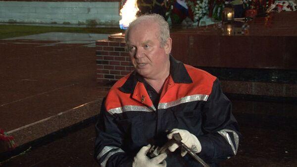 Специалисты Мосгаза показали, как устроен Вечный огонь у стен Кремля