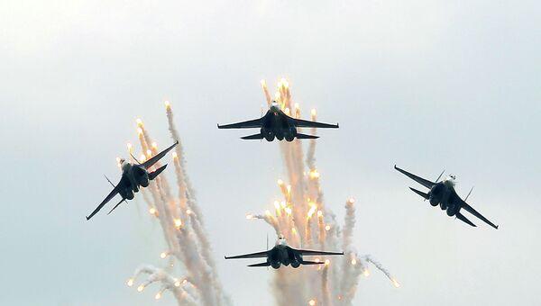 Истребители авиационной группы Русские Витязи