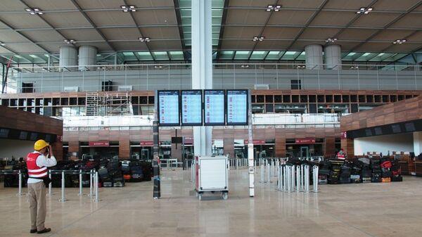 Новое здание терминала аэропорта Берлин Бранденбург