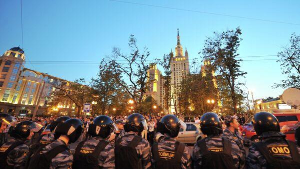 Задержания участников сбора оппозиции на Баррикадной. Архив