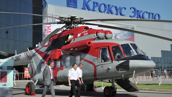Вертолет МИ-8АМТ. Архивное фото
