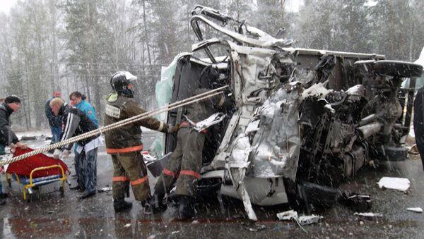 ДТП на участке трассы Красноярск-Ачинск