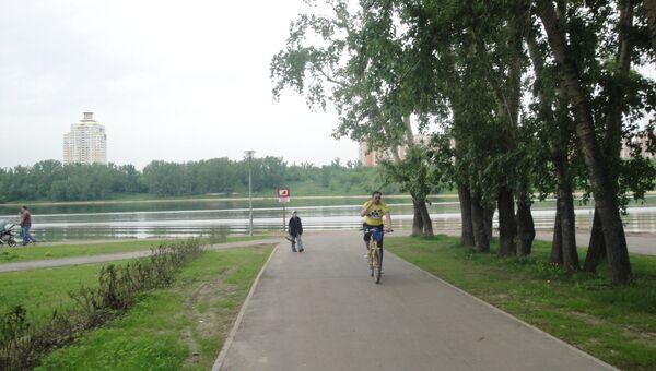 Велодорожки велосипеды Москва