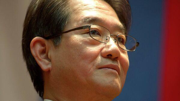Посол Японии в России Тикахито Харада. Архивное фото