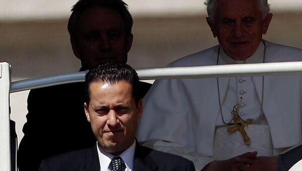 Камердинер Папы Римского Паоло Габриэле
