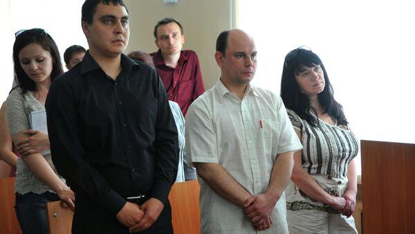 Оглашение приговора Сергею Абрамову в Советском суде Челябинска