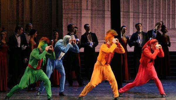 Сцена из спектакля Золушка Мариинского театра