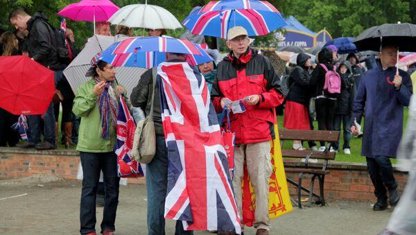 Празднование юбилея Елизаветы II в Лондоне