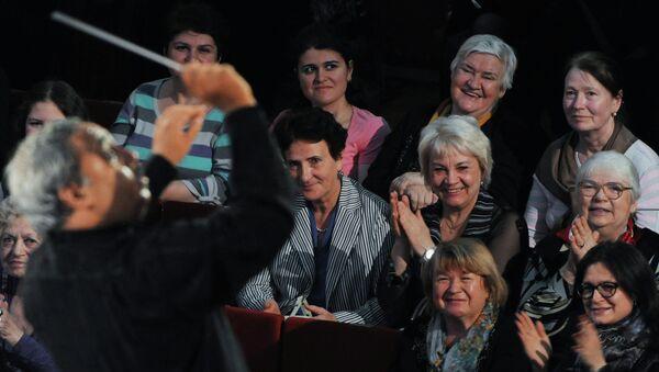 Выступление Симфонического оркестра Кубы. Архив
