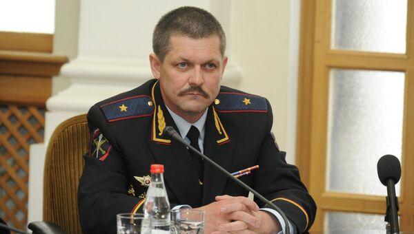 Руководитель столичного главка МВД Анатолий Якунин. Архивное фото