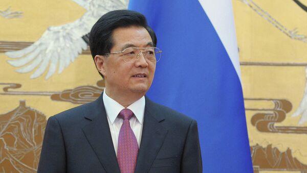 Председатель Китайской Народной Республики Ху Цзиньтао