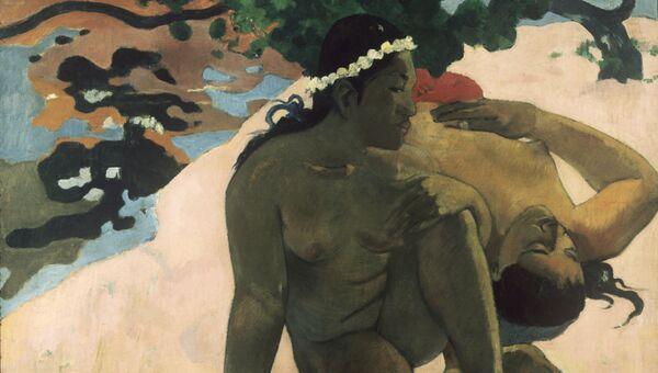Картина Поля Гогена А ты ревнуешь?