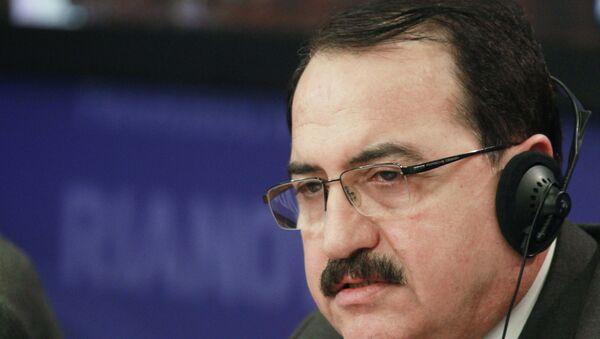 Посол Сирии в России Рияд Хаддад, архивное фото