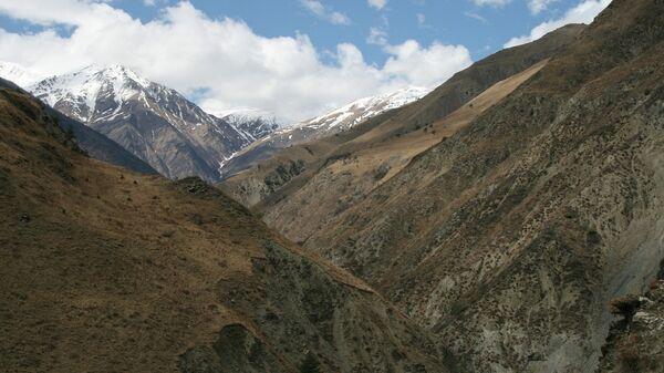 Горы в Джейрахском районе Ингушетии