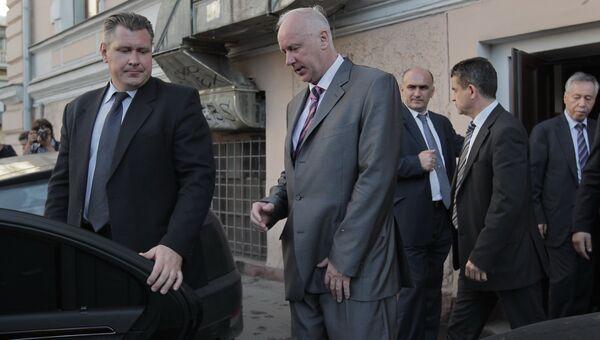 Встреча А. Бастрыкина с главными редакторами ряда СМИ