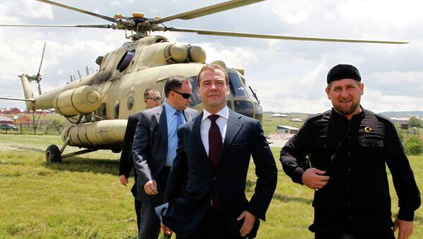 Рабочая поездка Д.Медведева в Северо-Западный федеральный округ
