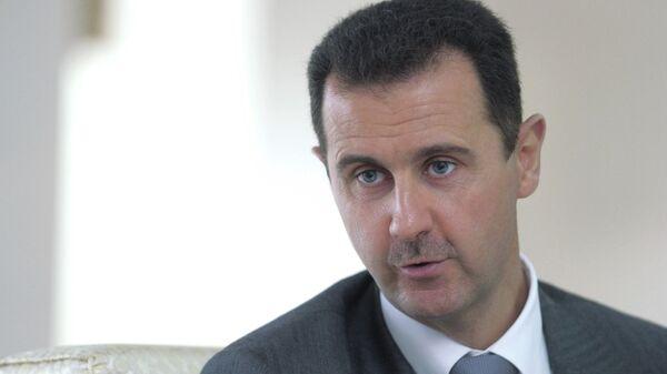 Президент Сирии Башар Асад . Архив