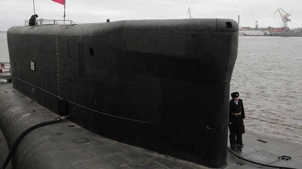 Атомный подводный крейсер Александр Невский. Архивное фото