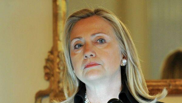 Хилари Клинтон на встрече с представителями российских правозащитных организаций