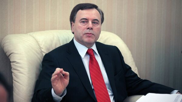 Первый заместитель генпрокурора РФ Александр Буксман. Архивное фото