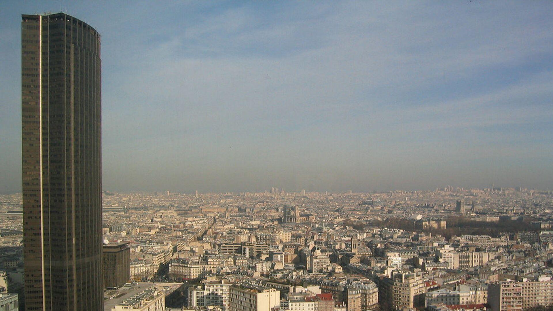 Башня Монпарнас в Париже - РИА Новости, 1920, 19.09.2020