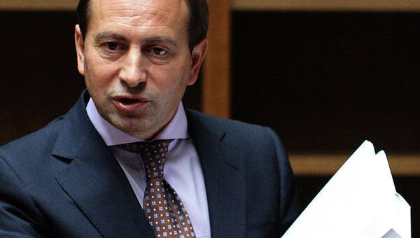Вице-спикер парламента Украины Николай Томенко