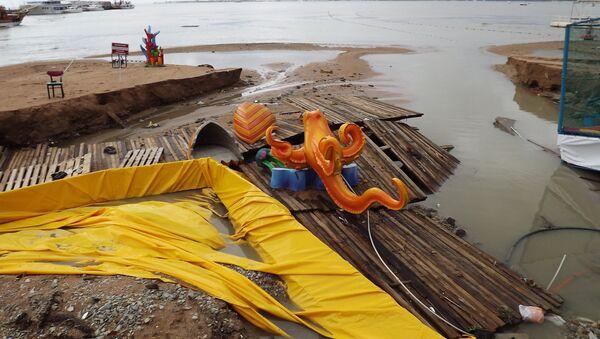 ливень дождь наводнение Геленджик Краснодарский край Кубань стихия