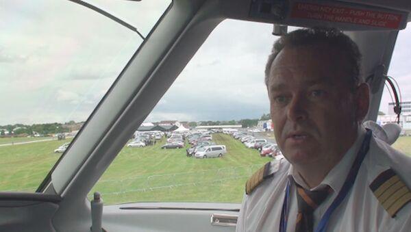 В наш самолет нужно верить – пилот SSJ-100 на авиасалоне Фарнборо-2012