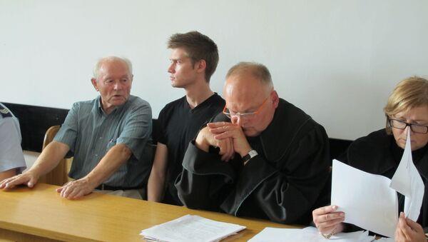 Болельщик Абрамов на суде