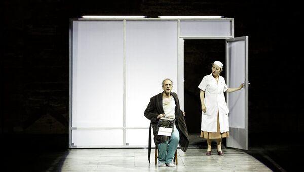 Сцена из спектакля Мастер и Маргарита