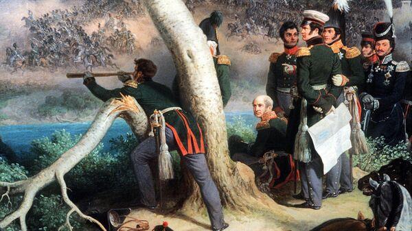 Картина П.Гесса Сражение при Смоленске