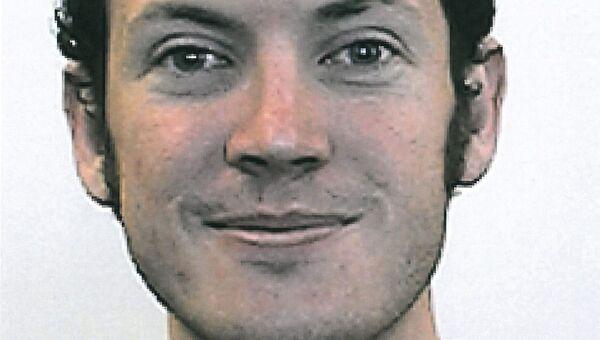 Джеймс Холмс, задержанный по подозрению в стрельбе в кинотеатре Колорадо