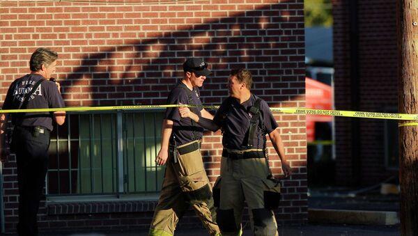 Около дома подозреваемого в стрельбе в Колорадо