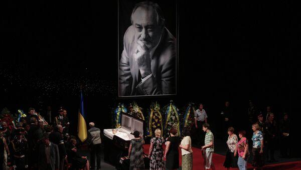 Прощание с актером Богданом Ступкой в Киеве